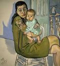 Alice Neel - moth-chil-nancy-olivia