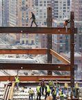 True Grit America's daring ironworkers rebuild at Ground Zero 3