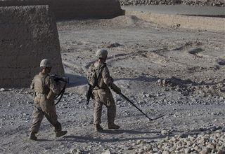 Soldiers fear IEDs